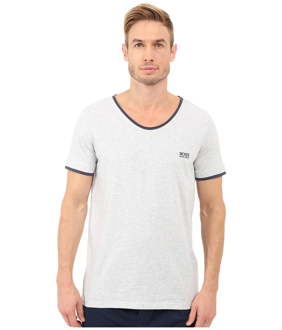 BOSS Hugo Boss - Mix Match V-Neck Tee (Medium Grey) Men's T Shirt