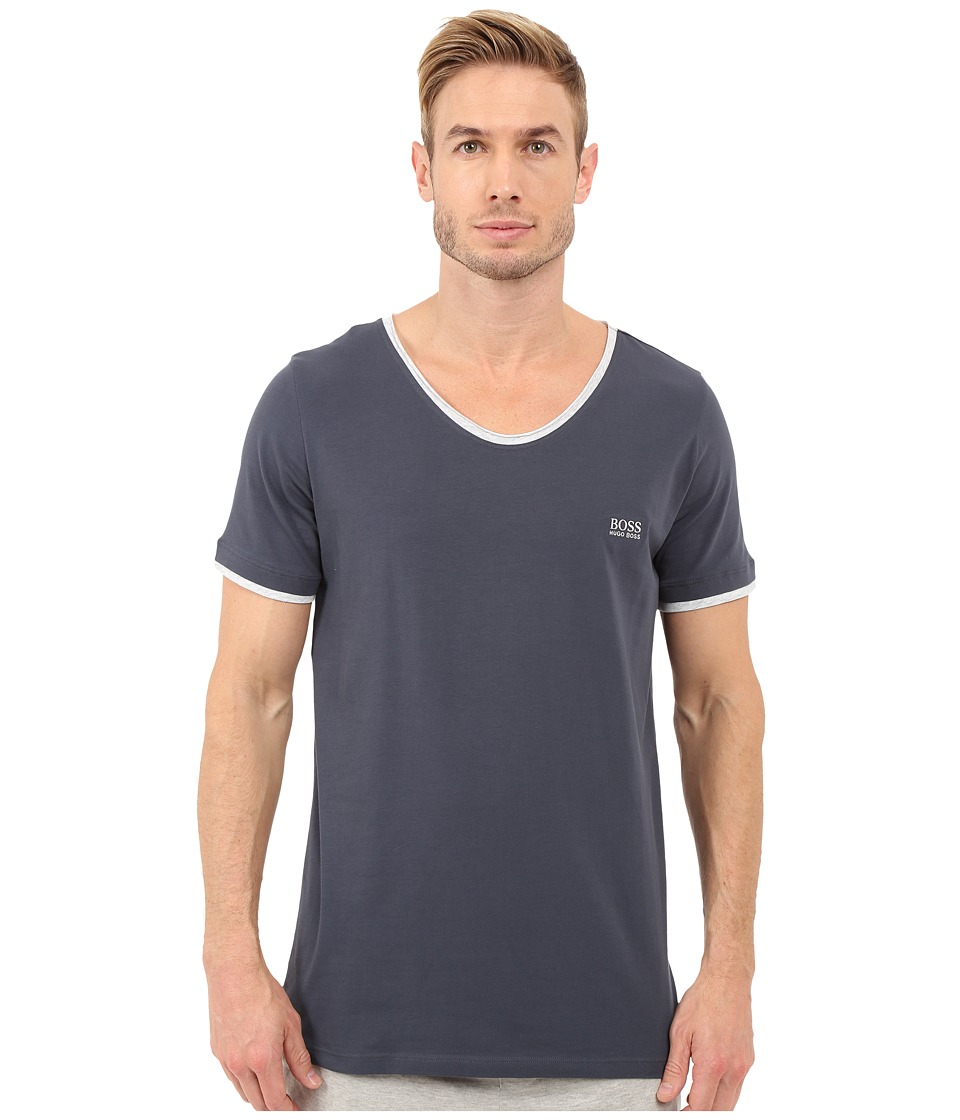 BOSS Hugo Boss - Mix Match V-Neck Tee (Dark Blue) Men's T Shirt