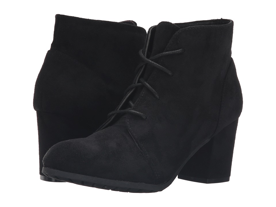 Madden Girl - Torch (Black Fabric) Women's Lace-up Boots
