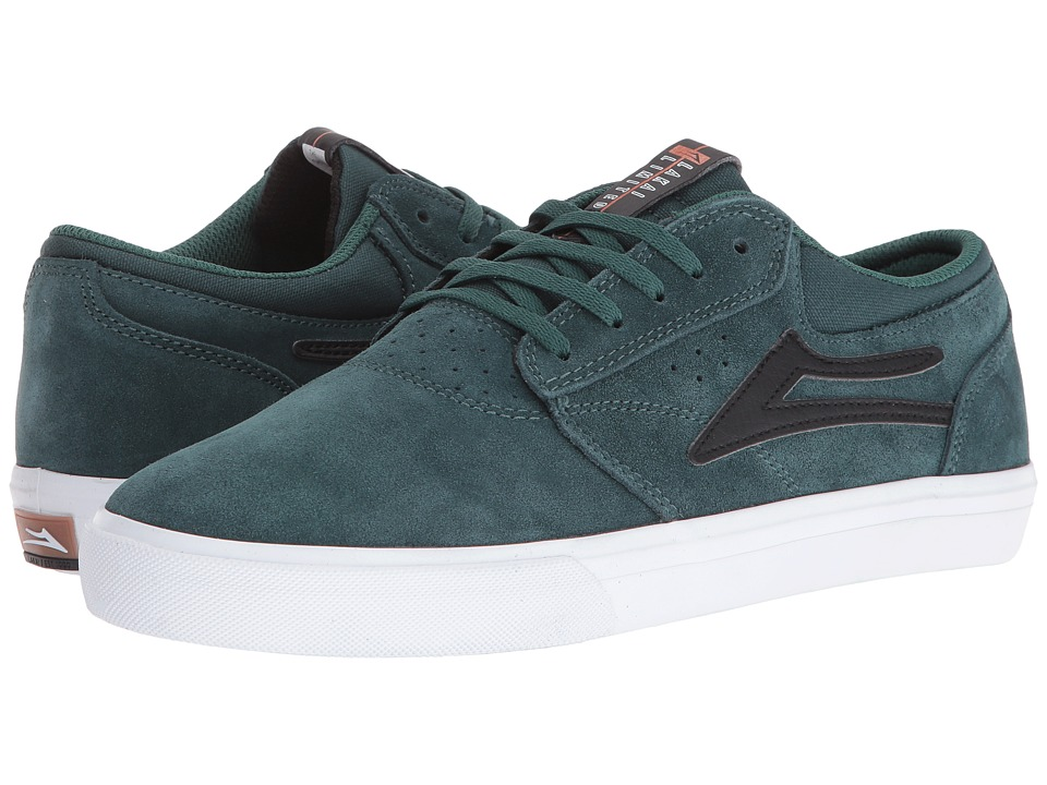 Lakai - Griffin (Pine/Black Suede) Men's Skate Shoes