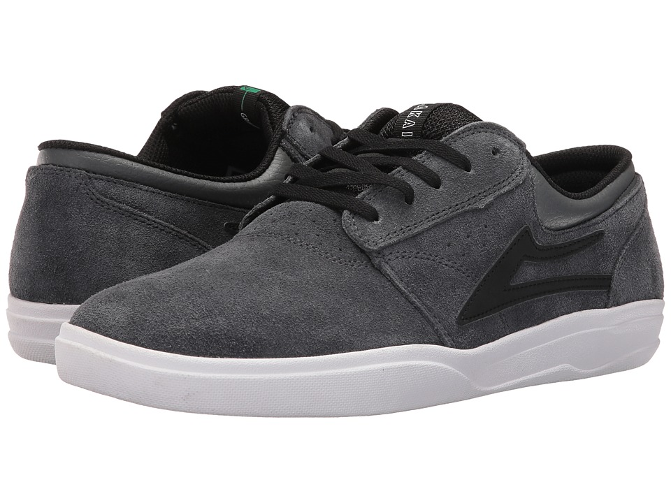 Lakai Griffin XLK (Grey/Black Suede) Men