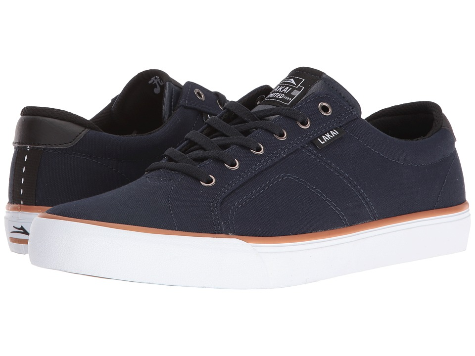 Lakai - Flaco (Midnight Canvas) Men's Skate Shoes
