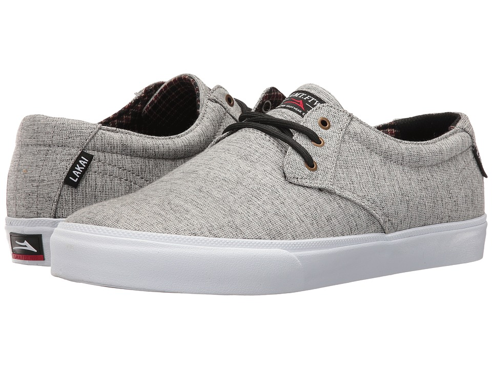 Lakai - Daly (Light Grey Textile) Men's Shoes