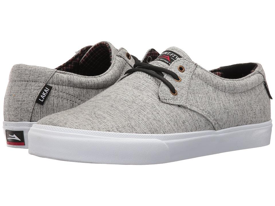 Lakai - Daly (Light Grey Textile) Men's Shoes