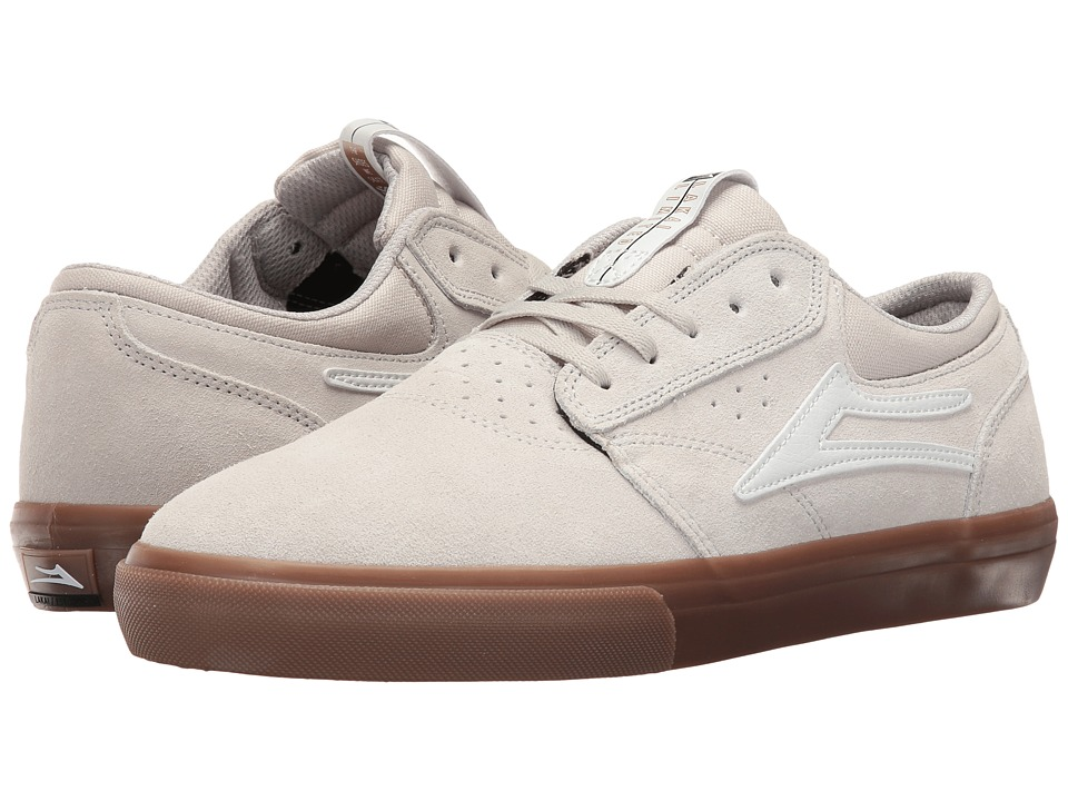 Lakai - Griffin (Cream Suede) Men's Skate Shoes