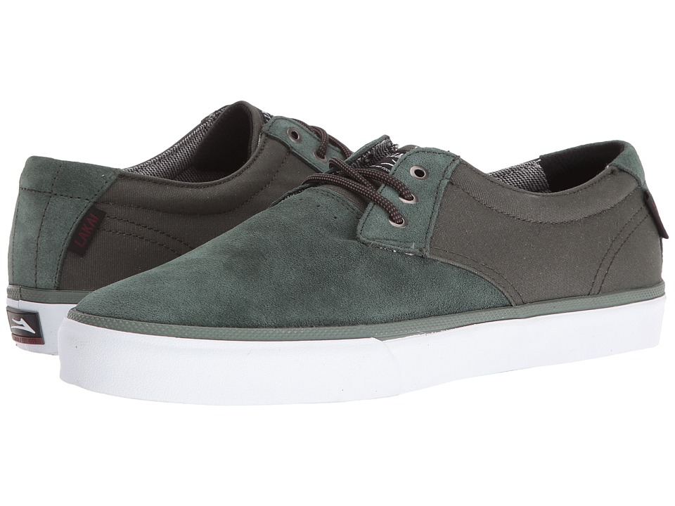 Lakai - Daly (Olive Suede) Men's Shoes