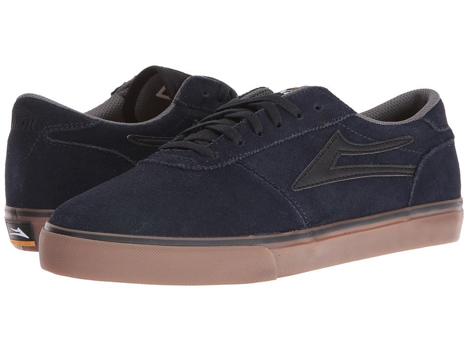 Lakai - Manchester Select (Navy/Gum Suede) Men's Skate Shoes