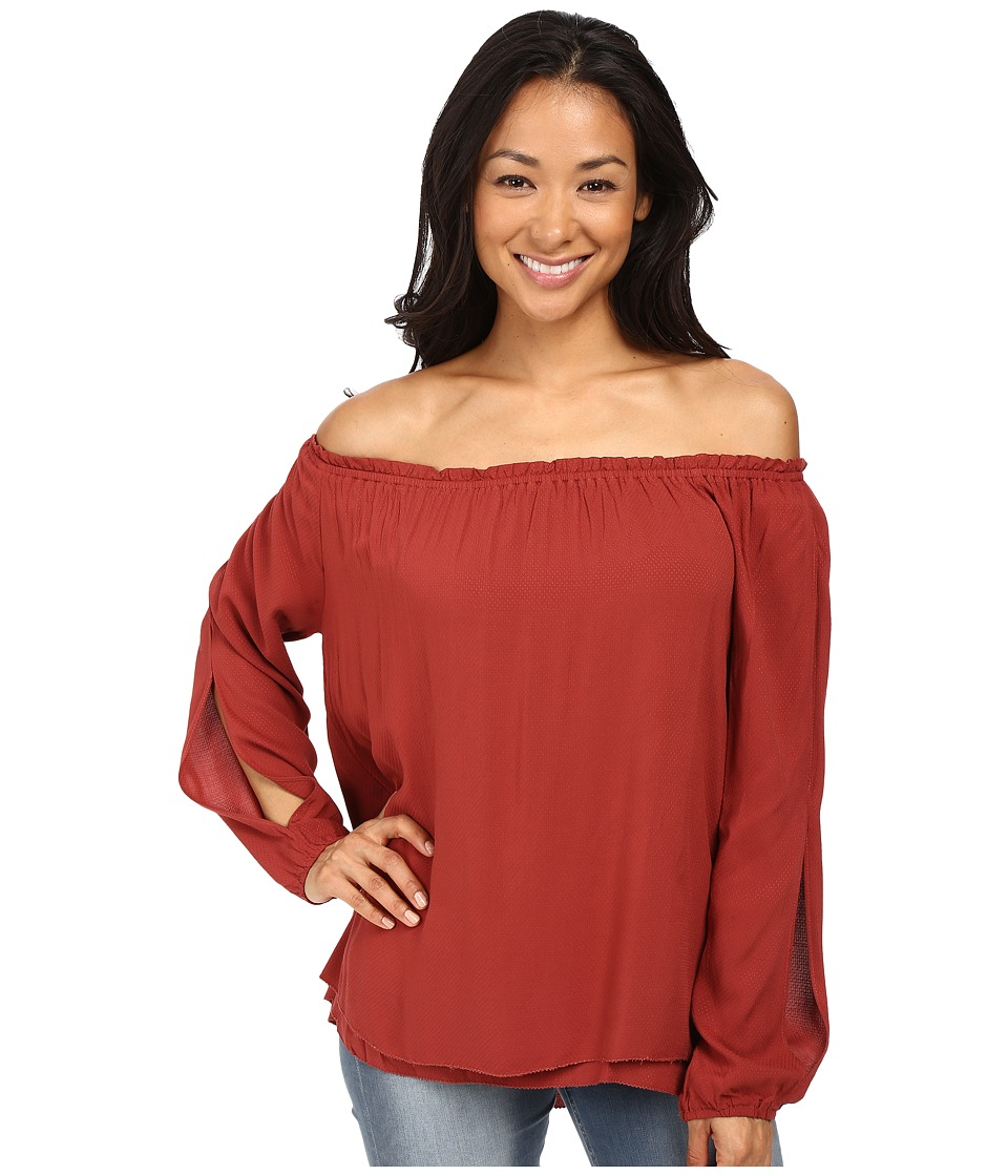 Sanctuary - Chantel Top (Brooklyn Brick) Women's Clothing