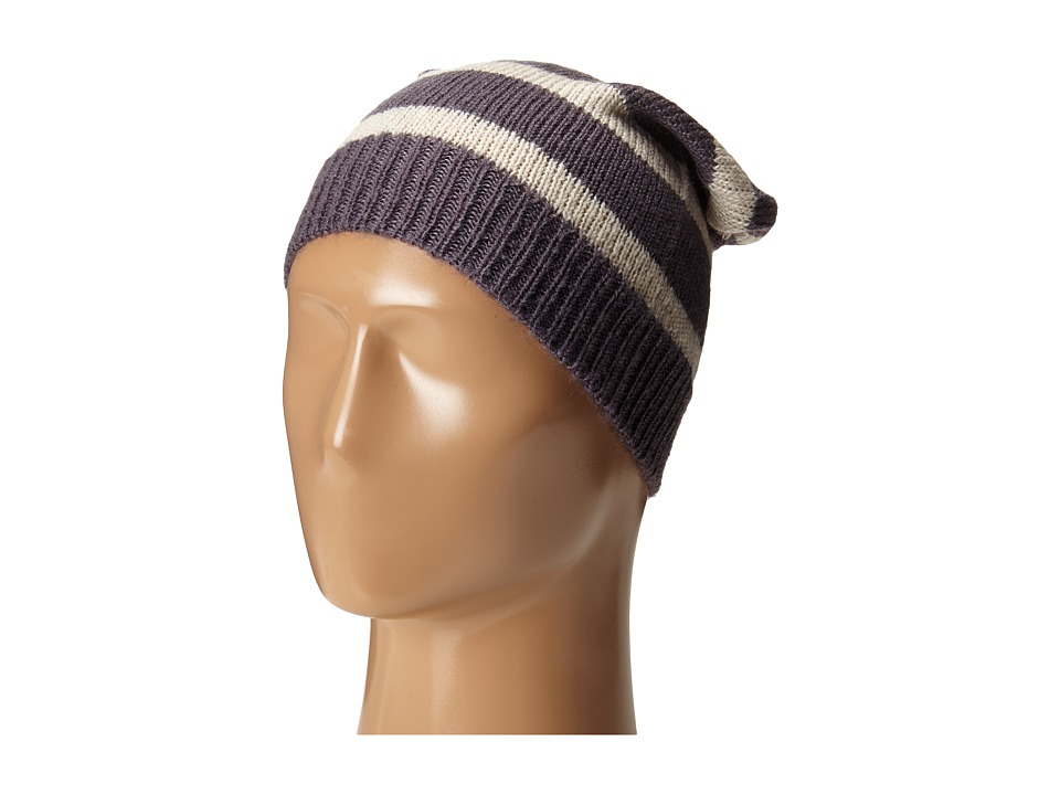 Hat Attack - Stripe Slouchy (Grey/Wheat) Caps