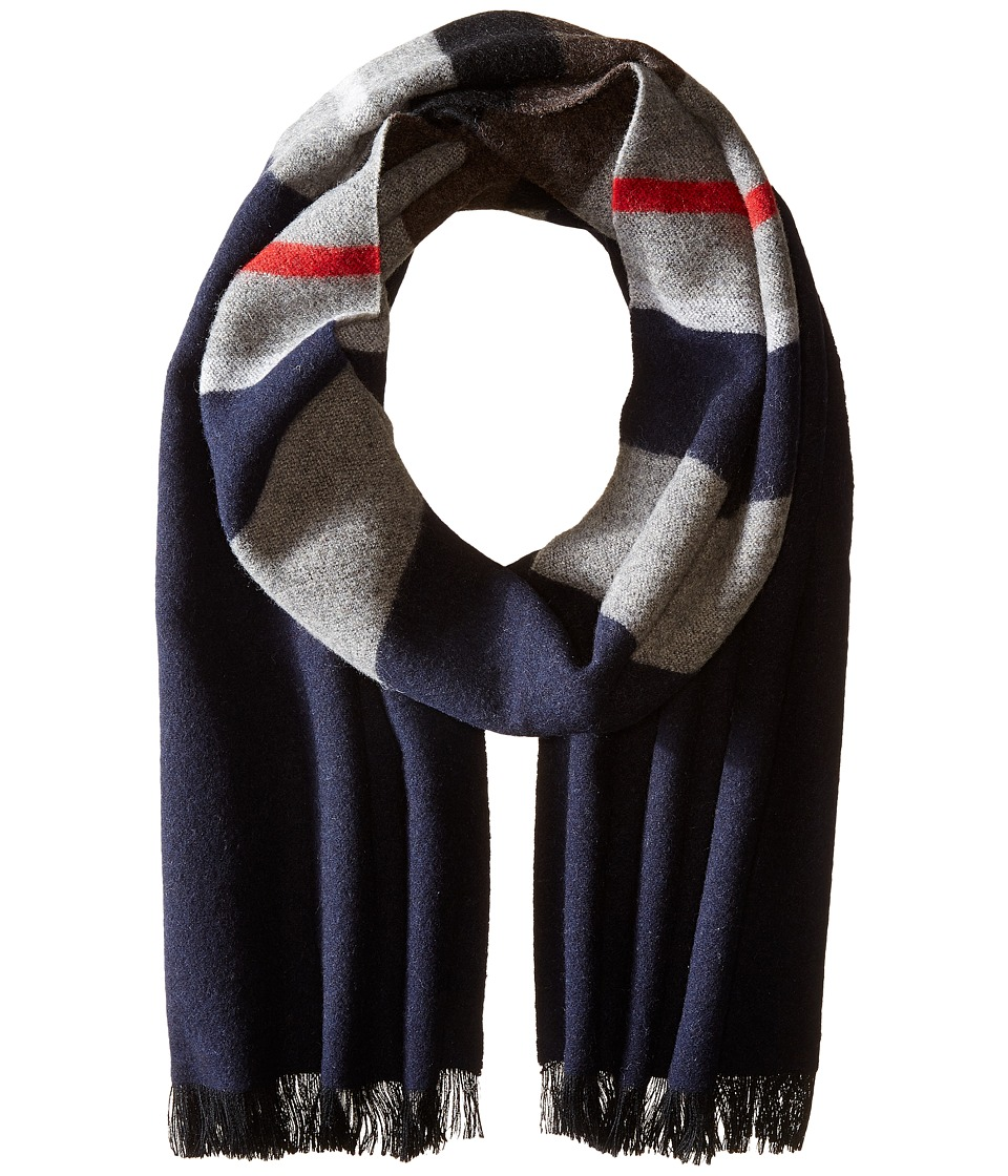 Bogner Fire + Ice - Blin (Navy Stripe) Scarves
