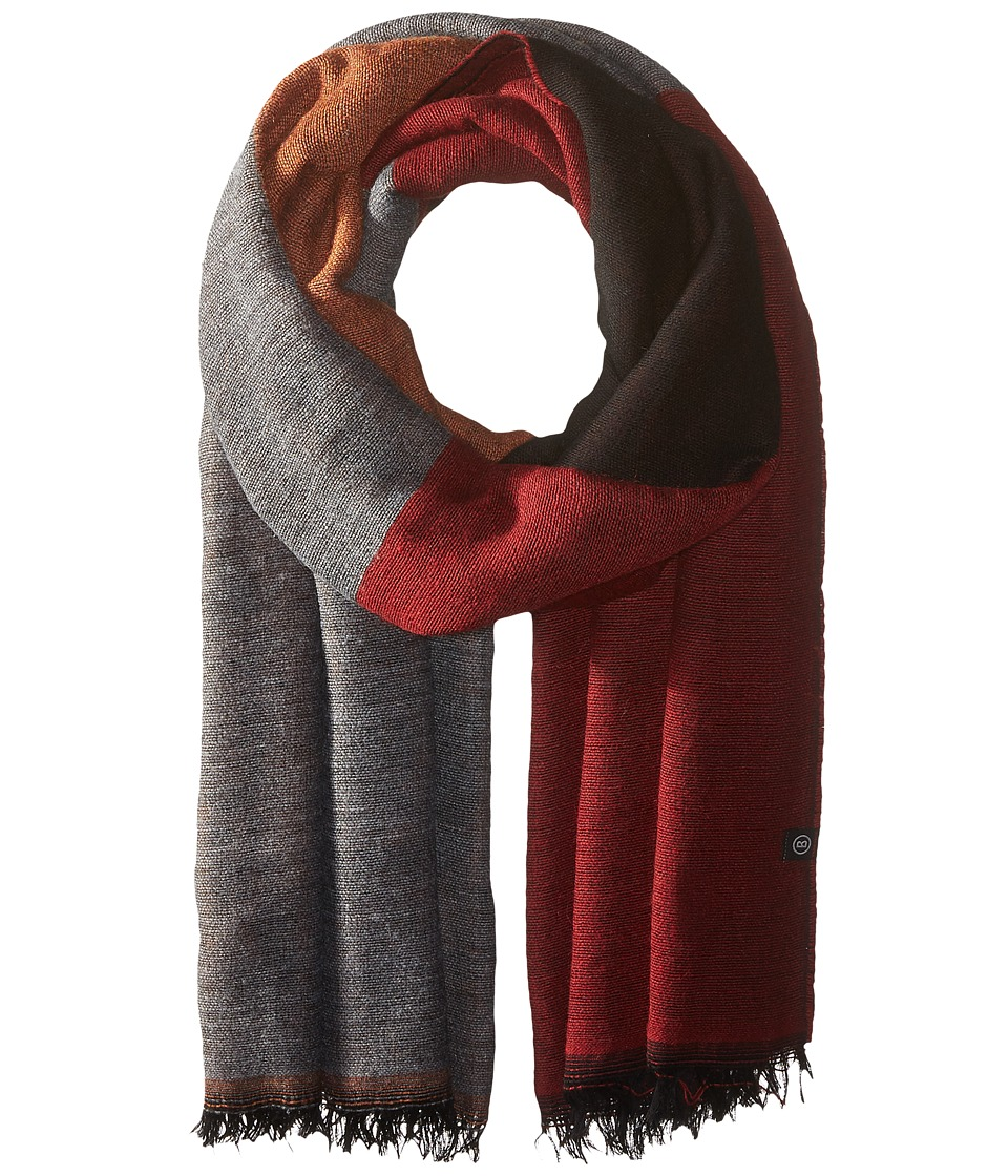 Bogner Fire + Ice - Eila (Red/Grey/Black/Yellow) Scarves