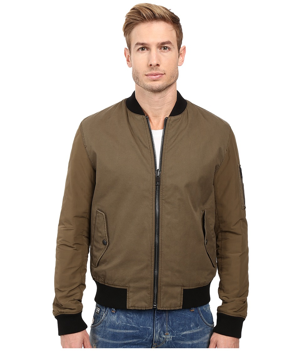 BOSS Orange - Odorian-W Reversible Bomber (Brown) Men's Coat