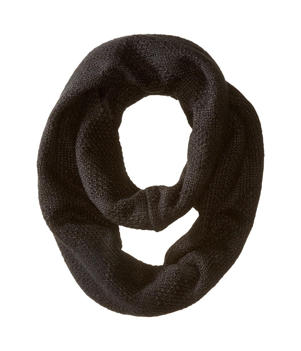 Hat Attack - Double Microfur Eternity (Black) Scarves