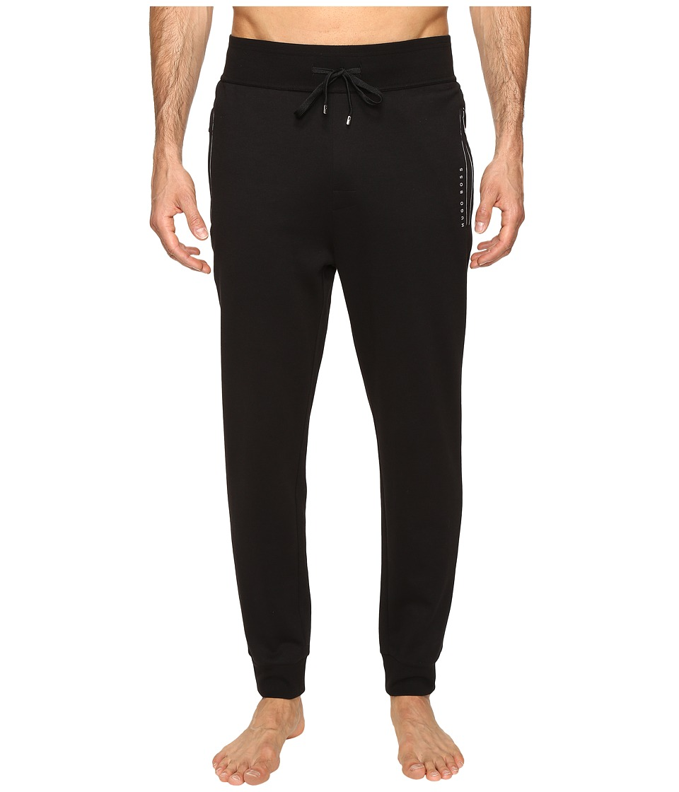 BOSS Hugo Boss - Tracksuit Long Pants Cuffs (Black) Men's Pajama