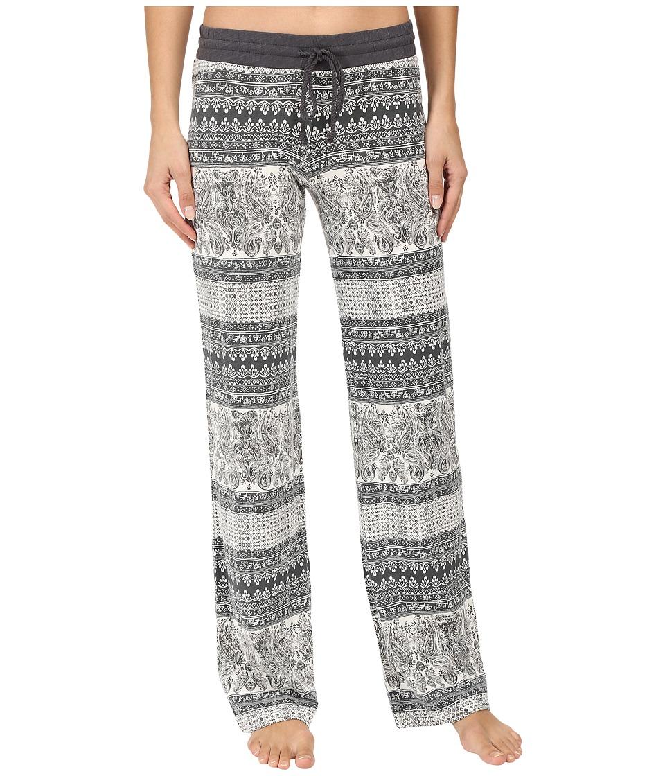 P.J. Salvage - Nouveau Vintage Print Lounge Pants (Natural) Women's Pajama