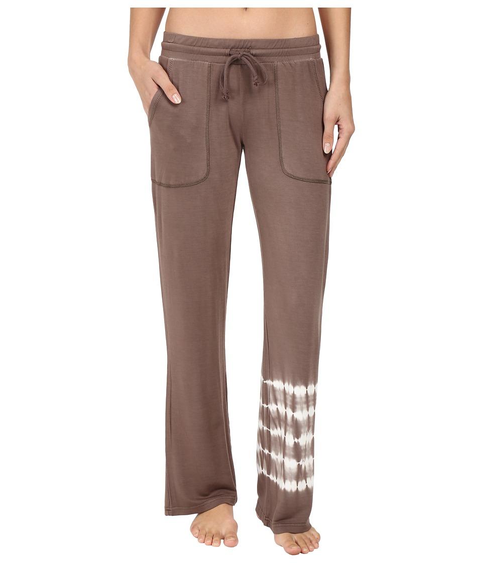 P.J. Salvage - Desert Dream Tie-Dye Lounge Pant (Coco) Women's Pajama
