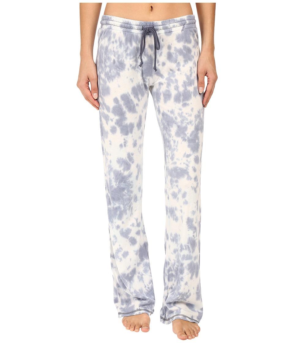 P.J. Salvage - Desert Dream Tie-Dye Lounge Pants (Denim) Women's Pajama