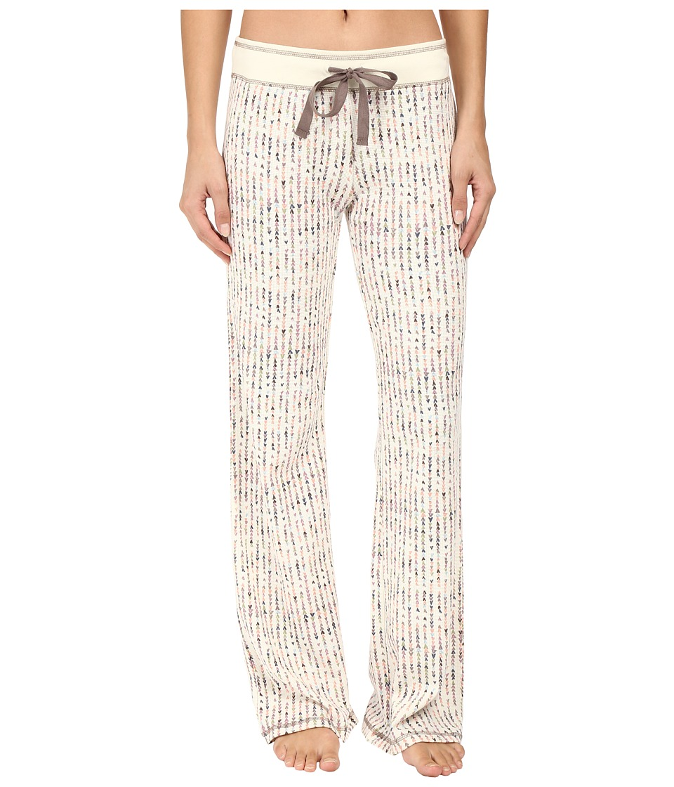 P.J. Salvage - Teeny Tipi's Thermal PJ Pants (Natural) Women's Pajama