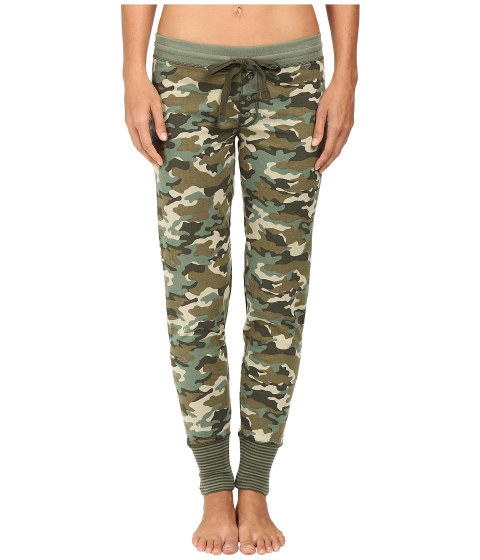P.J. Salvage - Mission Bound Jogger Pants (Camo) Women's Pajama