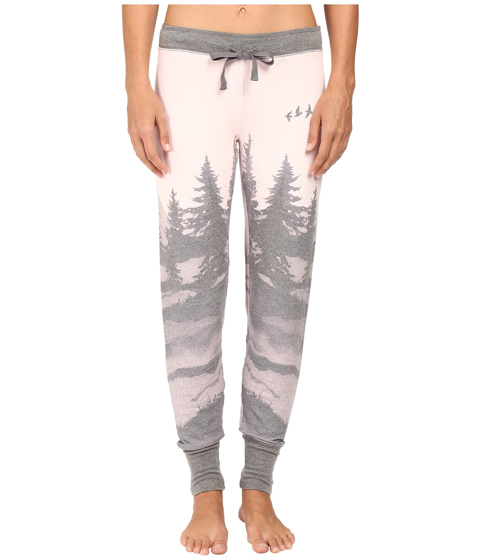 P.J. Salvage - Owl About Nature Sweatpants (Dusty Pink) Women's Pajama