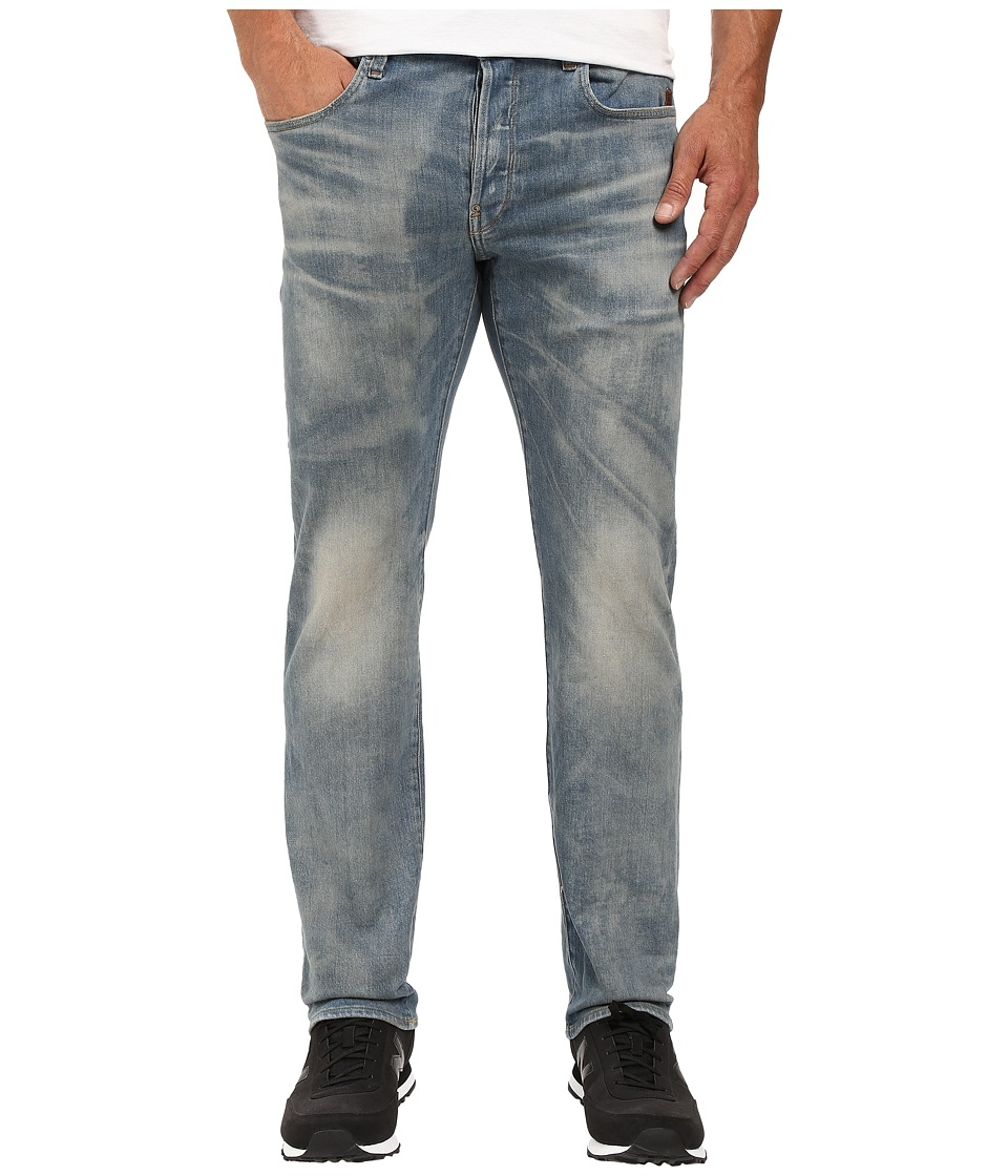 G-Star - Revend Straight Fit Jeans in Vekos Stretch Denim Medium Aged (Medium Aged) Men's Jeans