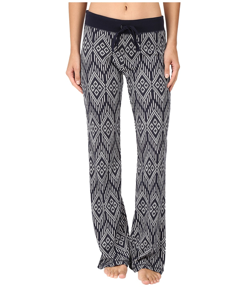 P.J. Salvage - Batik Me Thermal Lounge Pants (Navy) Women's Pajama