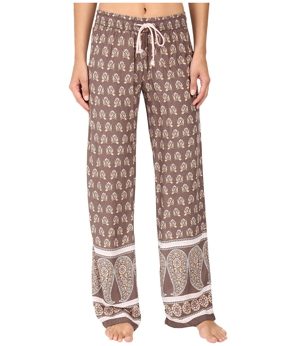 P.J. Salvage - Chic Paisley Lounge Pants (Coco) Women's Pajama