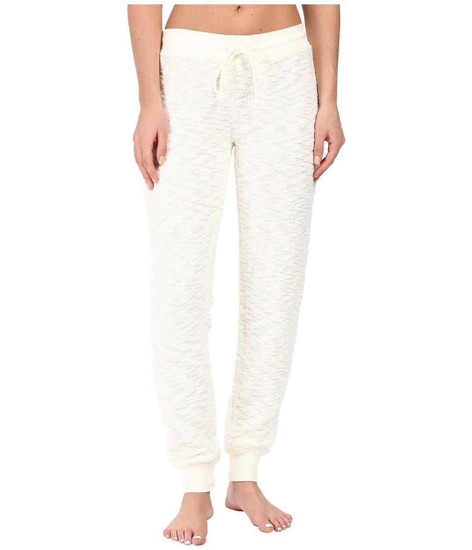 P.J. Salvage - Grey Textured Jogger (Natural) Women's Pajama