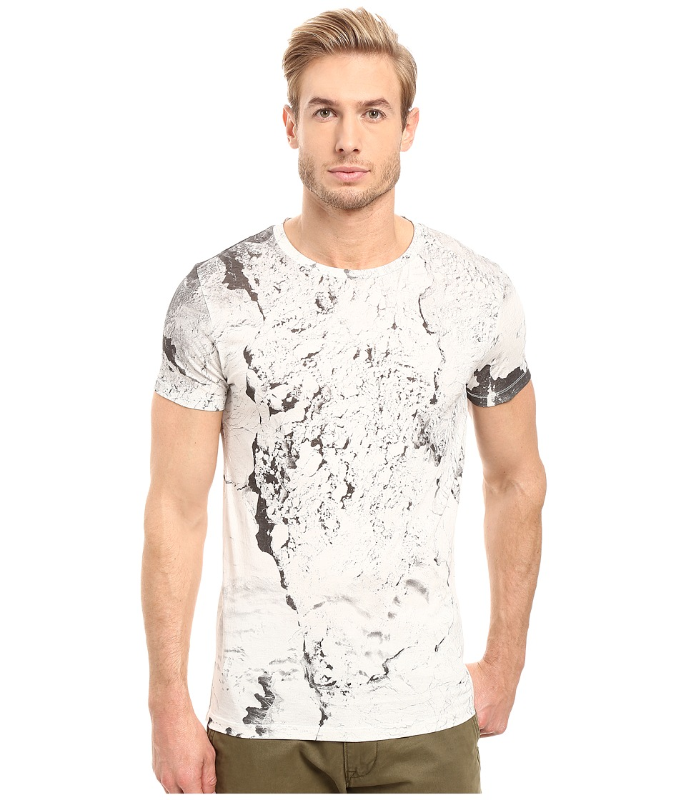 BOSS Orange - Tay 4 All Over T-Shirt (White) Men's T Shirt