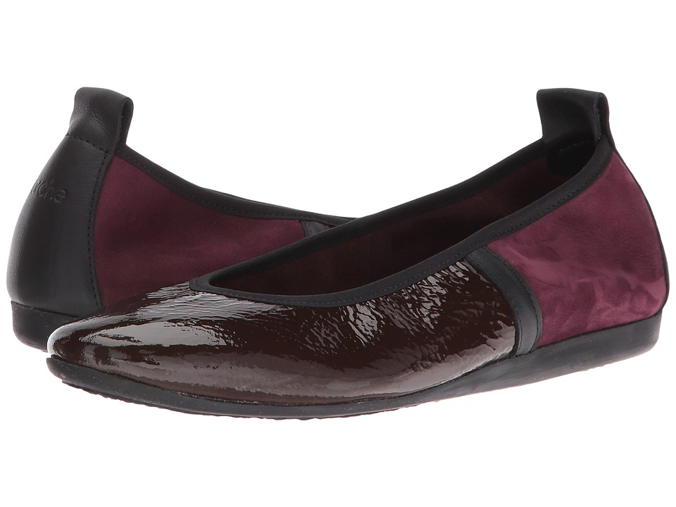 Arche - Lamour (Aubergine/Noir/Berry) Women's Shoes