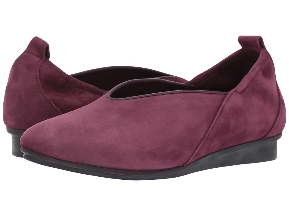 Arche - Nino (Berry 1) Women's Shoes