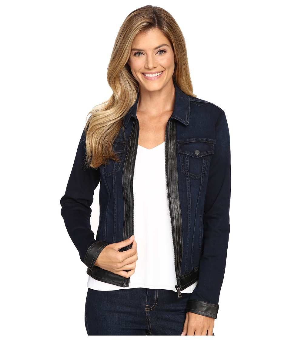 NYDJ - Veronica Jacket in Future Fit Denim (Paris Nights Wash) Women's Coat