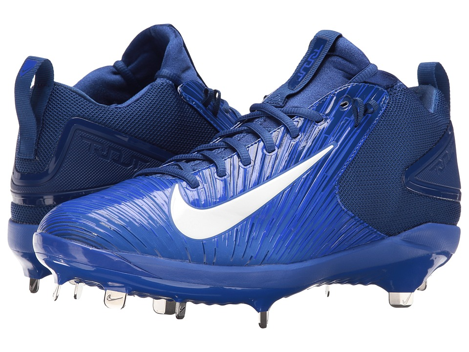 Nike - Trout 3 Pro Baseball Cleat (Racer Blue/White/Rush Blue) Men's Cleated Shoes
