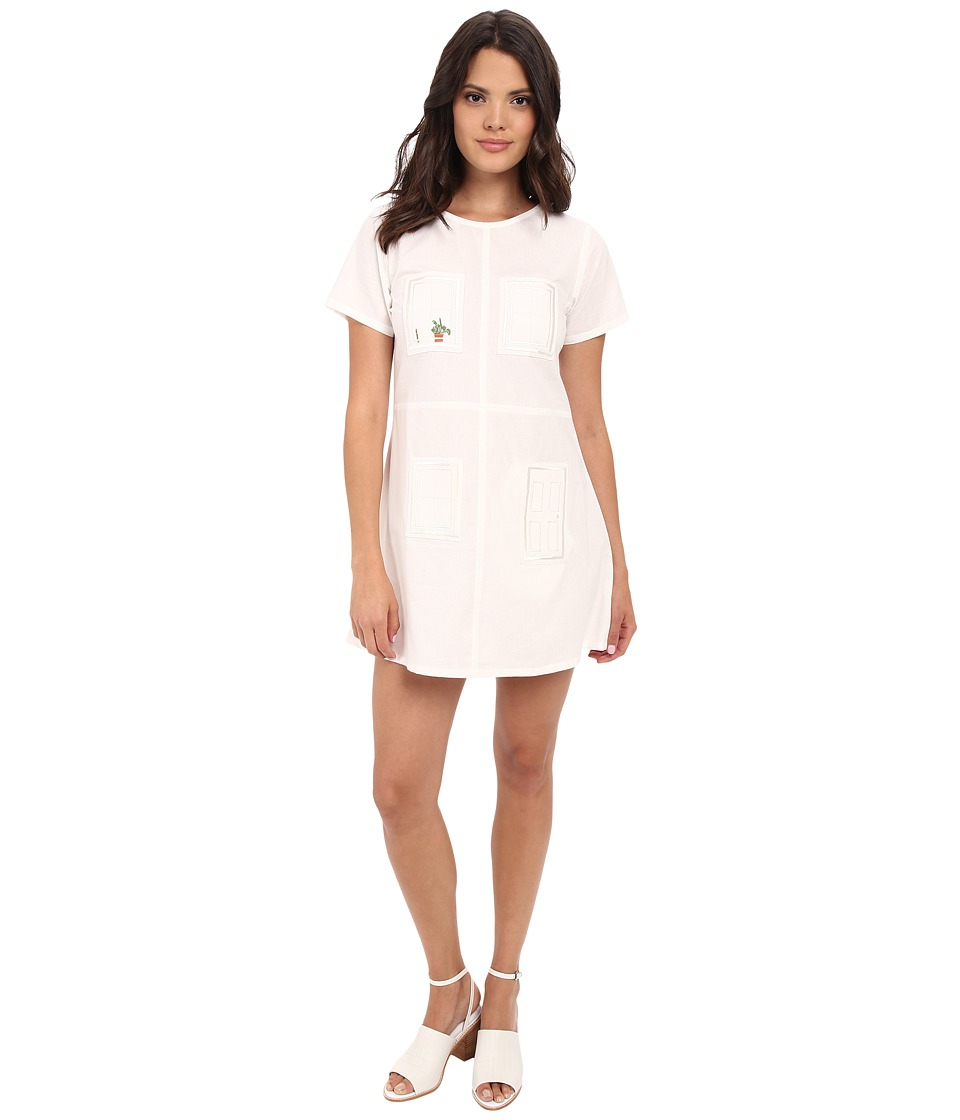 Samantha Pleet - House Dress (Ivory) Women's Dress
