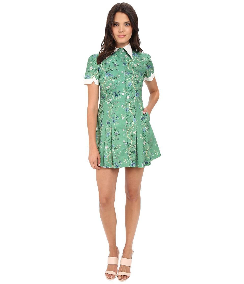 Samantha Pleet - Wallflower Dress (Greenwall) Women's Dress