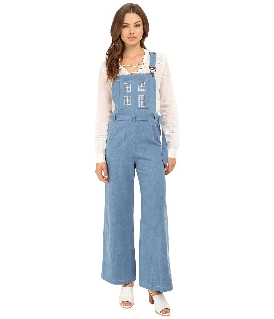 Samantha Pleet - Home Sweet Home Overalls (Ultra) Women's Overalls One Piece