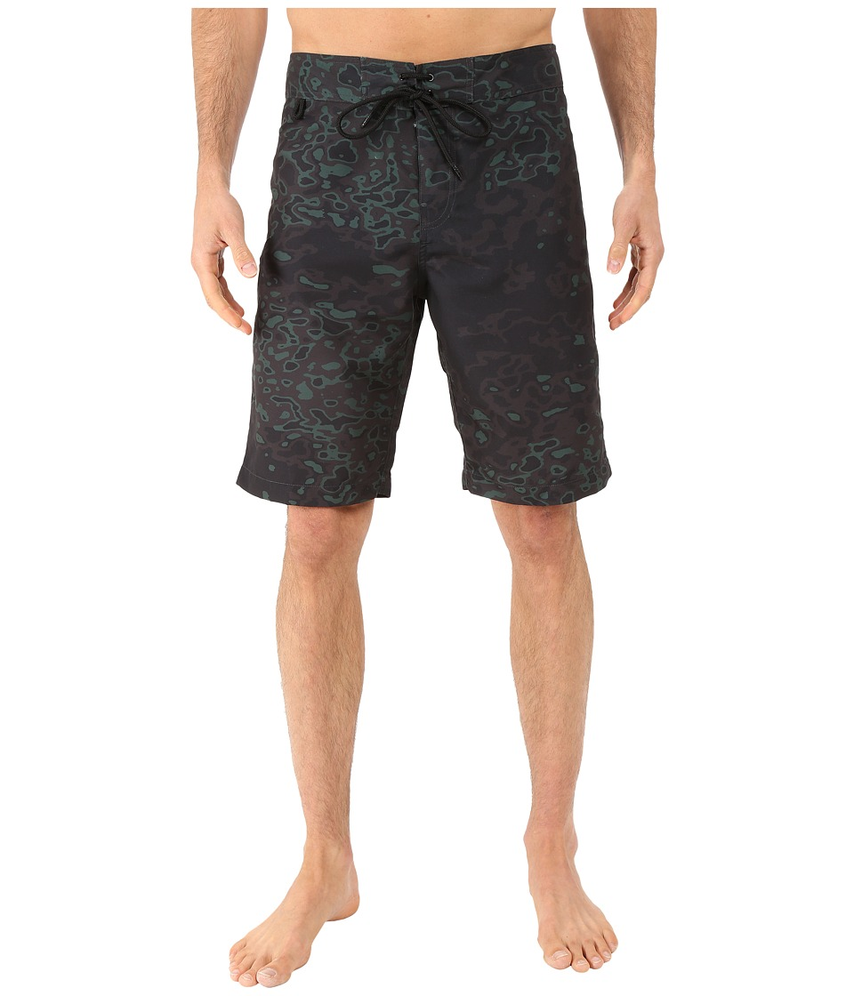Publish Weaver Signature Camo Boardshorts (Black) Men