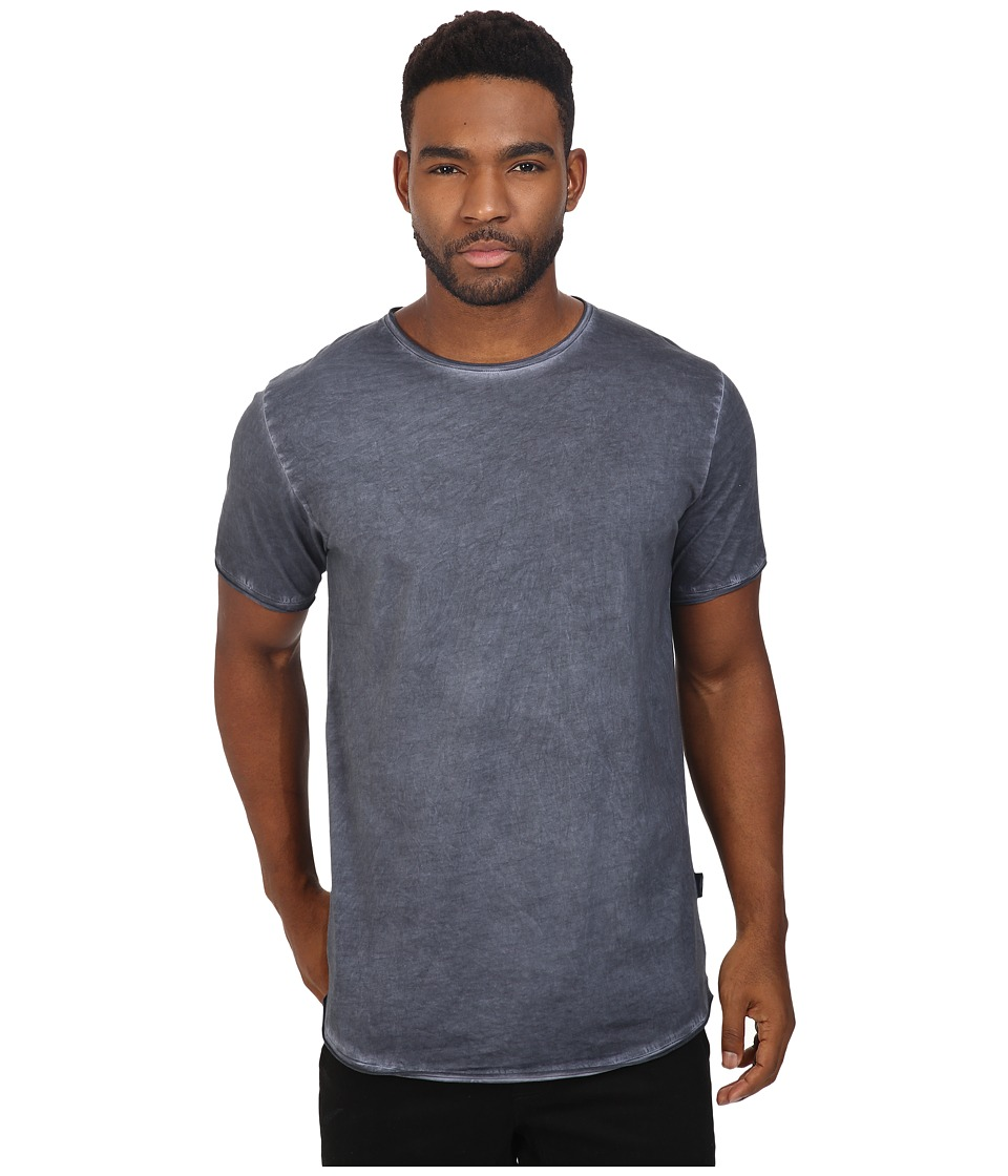 Publish - Edgar - Oil Washed Tee (Navy) Men's T Shirt