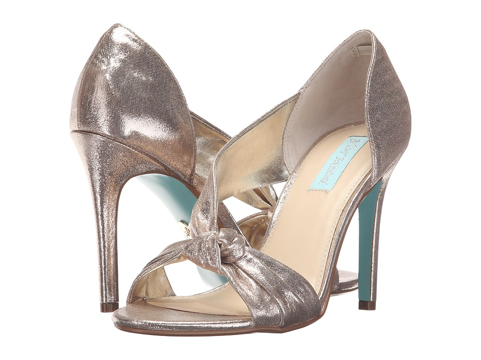 Blue by Betsey Johnson Abi (Gold) High Heels