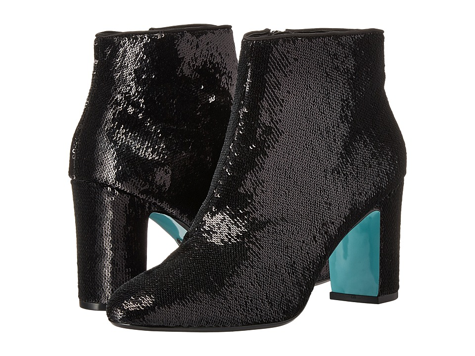 Blue by Betsey Johnson Blair (Black Sequin) Women