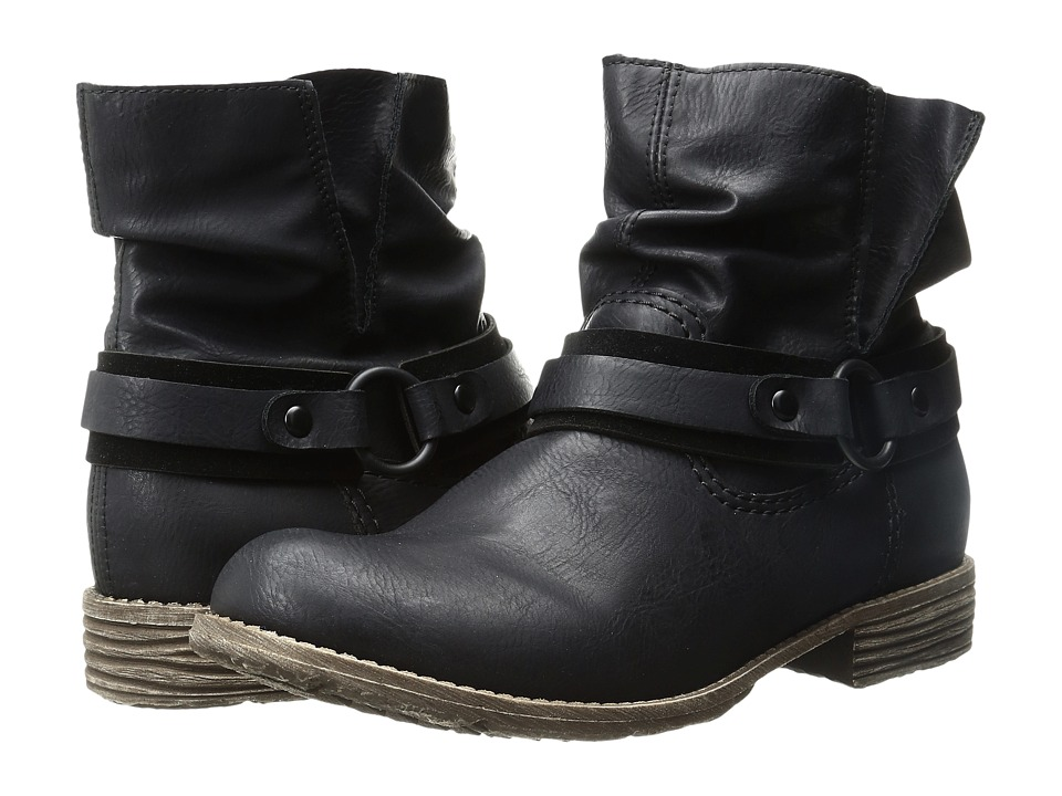 Rieker 74762 (Black/Black) Women