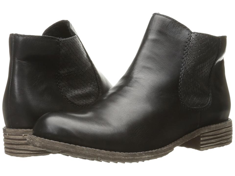 Rieker - 74786 (Schwarz/Granit) Women's Boots