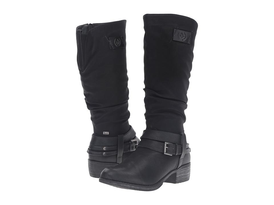 Rieker - 93158 (Black/Black/Black) Women's Dress Boots