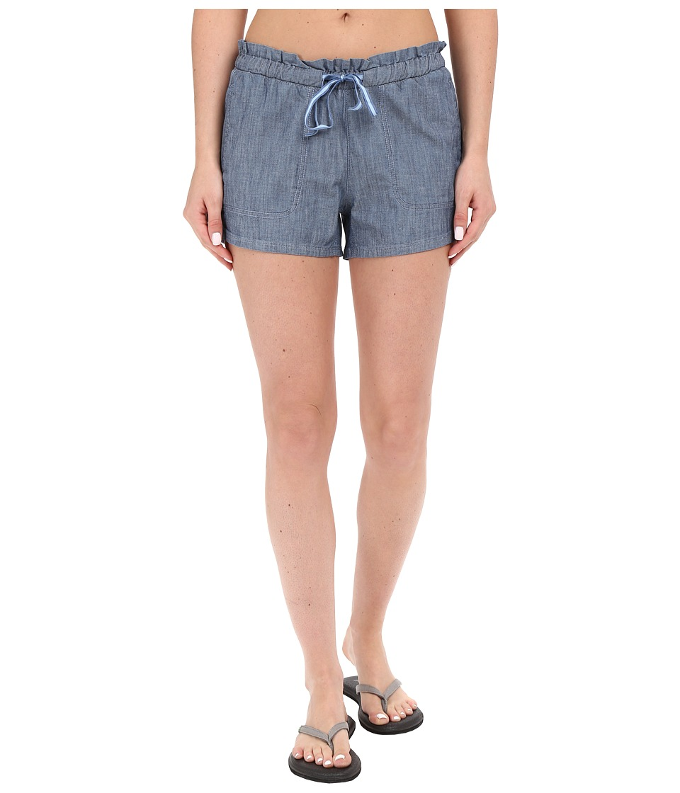 The North Face - Peak 2 Pub Shorts (Indigo Chambray) Women's Shorts
