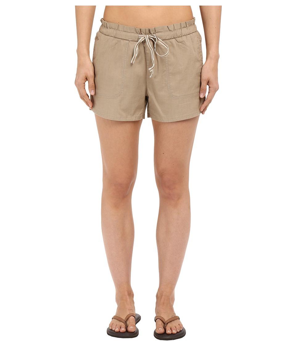 The North Face - Peak 2 Pub Shorts (Dune Beige) Women's Shorts