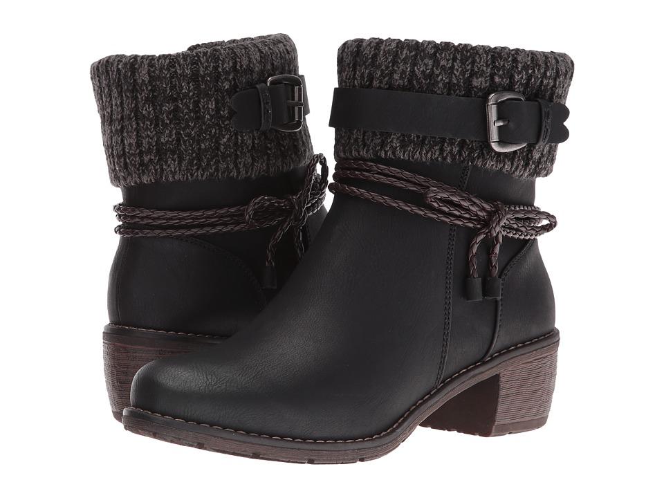 Rieker - 99878 (Schwarz/Testadimoro/Black) Women's Boots