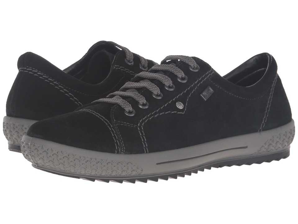 Rieker - M6104 (Black) Women's Lace up casual Shoes