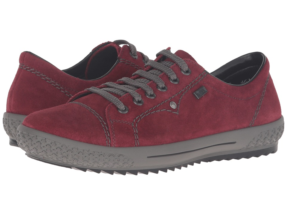 Rieker - M6104 (Wine) Women's Lace up casual Shoes