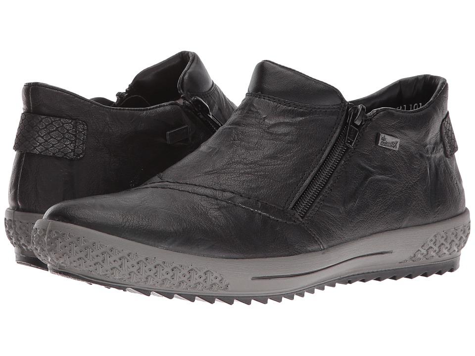 Rieker - M6182 (Schwarz/Granit/Schwarz) Women's Shoes