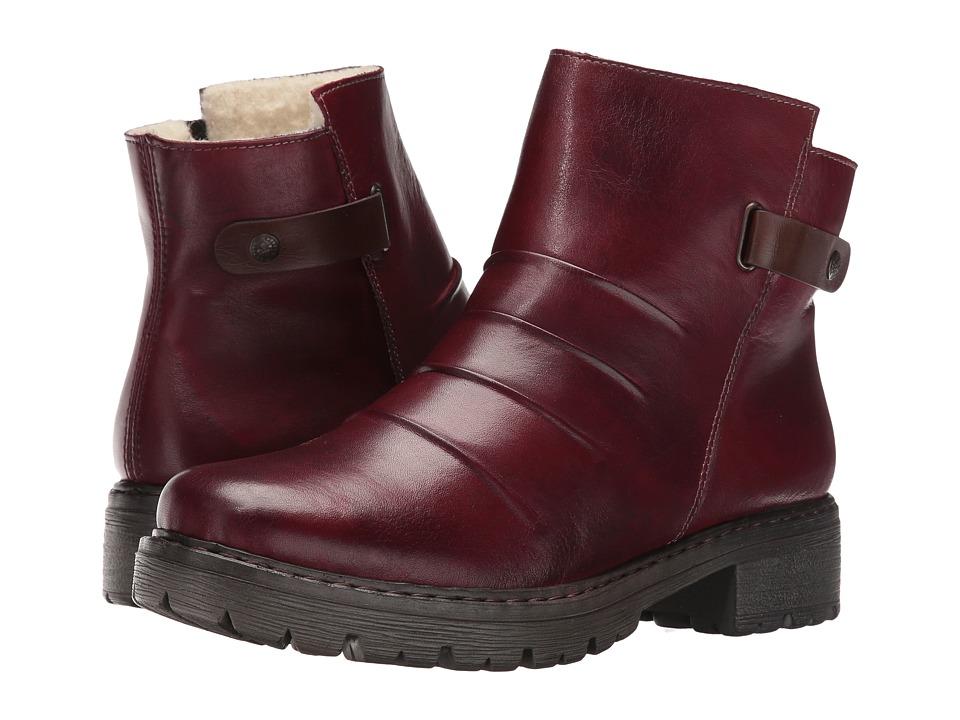Rieker - Y9072 (Medoc/Mogano/Burgundy) Women's Boots